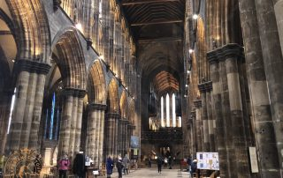 The nave at Glasgow Cathedral