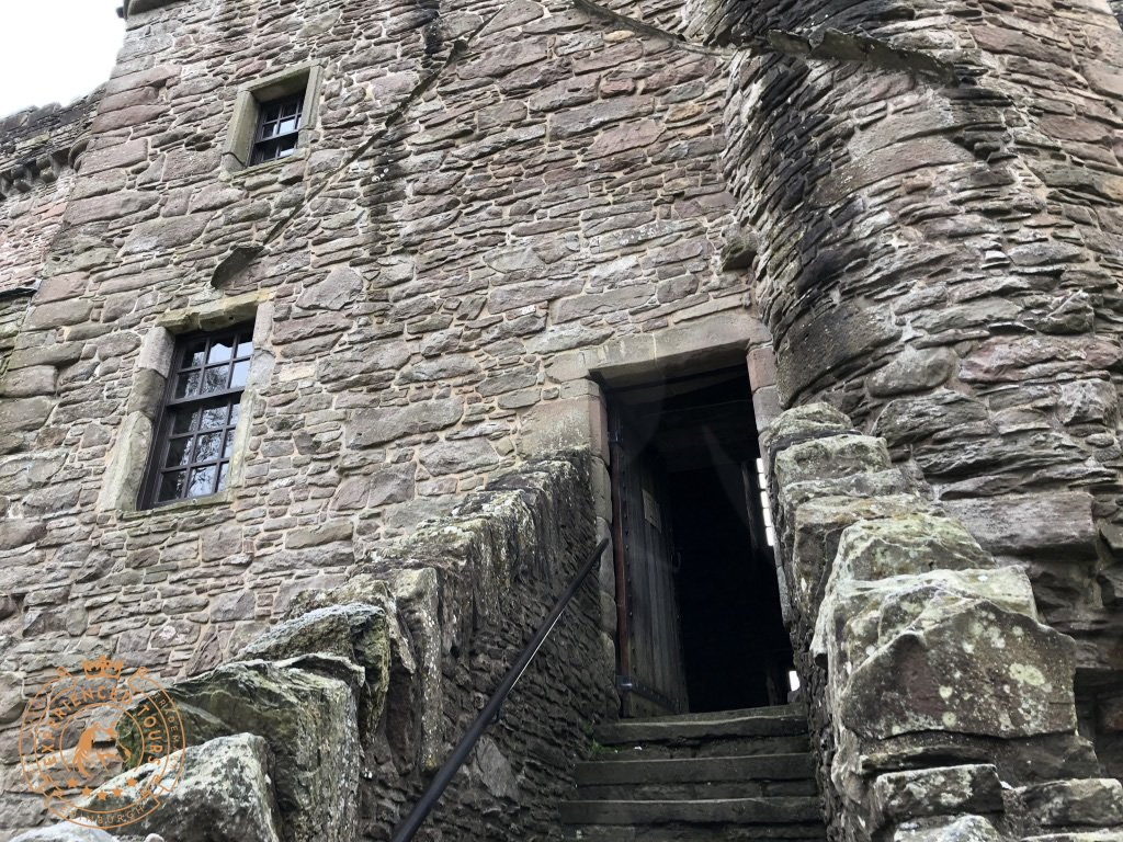 East Entrance to Huntingtower Castle