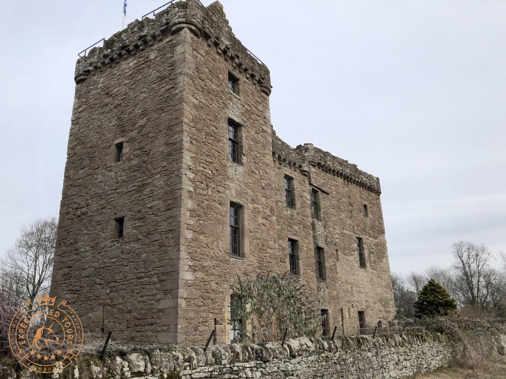 South Facade at Huntingtower Castle