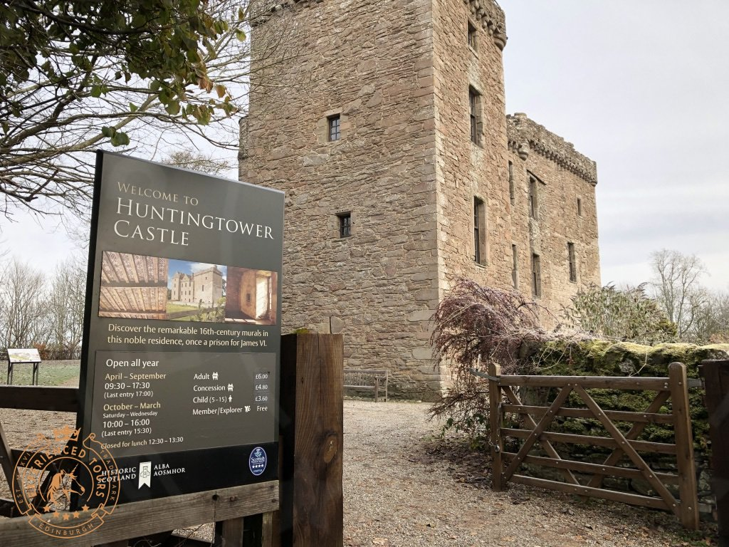 Huntingtower Castle Welcome