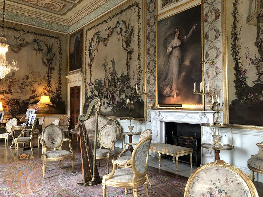Drawing room at Inveraray Castle