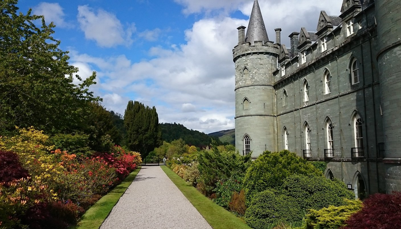 Gardens at Inveraray Castle