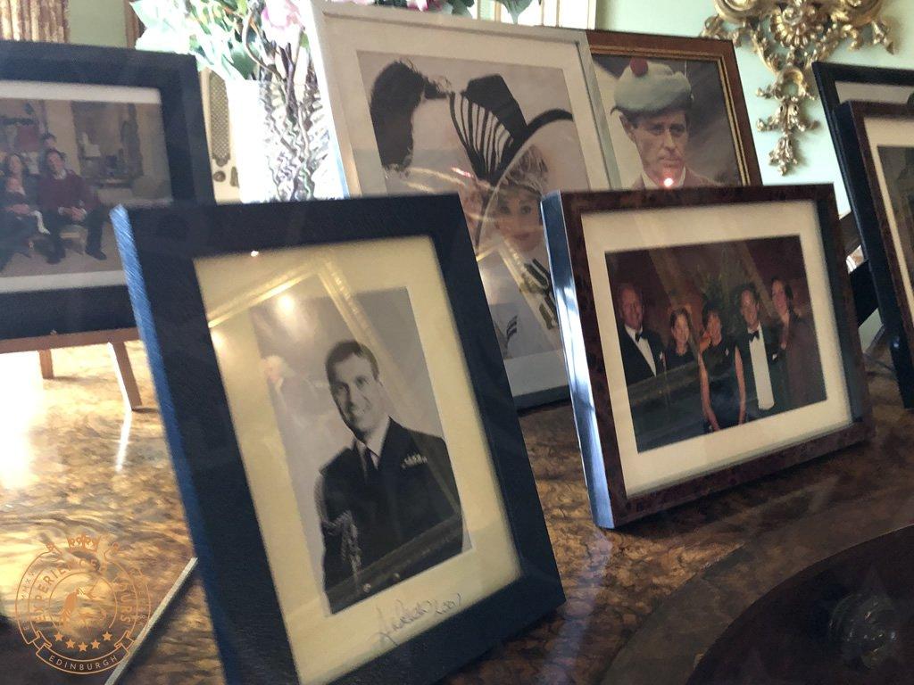 Family photos at Inveraray Castle