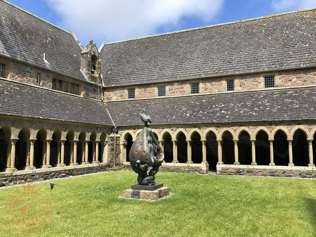 The Cloister at Iona Abbey