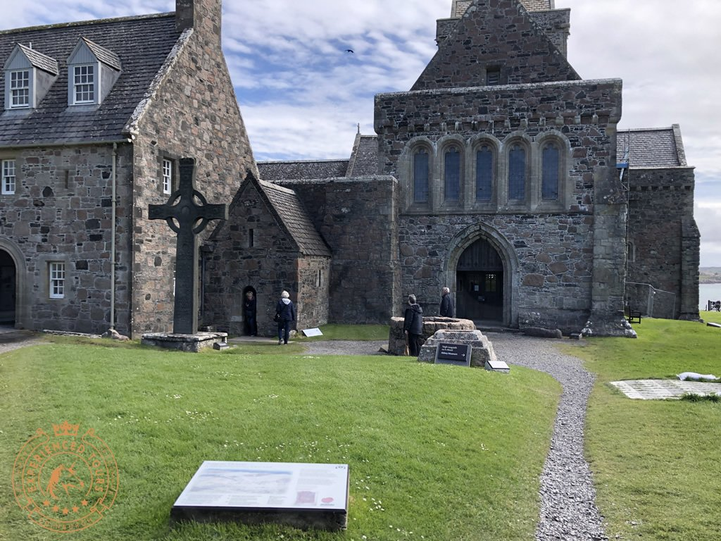 Entrance to Iona Abbey