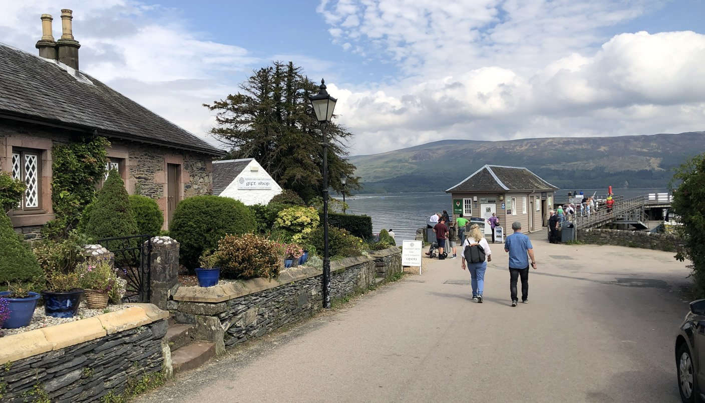 Luss village and Pier