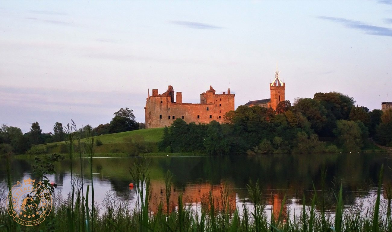 Linlithgow Palace from Linlithgow Loch