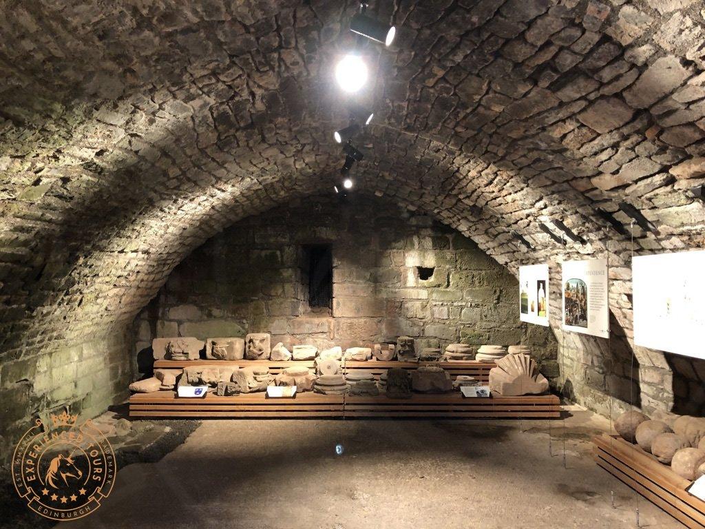 Cellars at Bothwell Castle