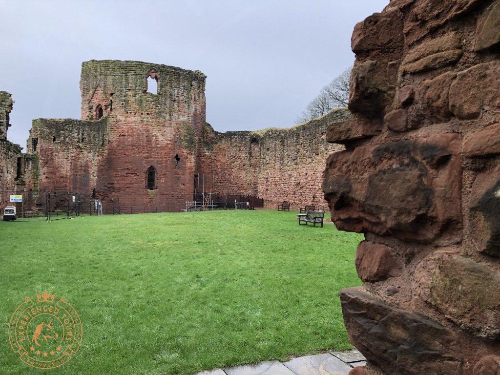 Bothwell Castle Courtyard