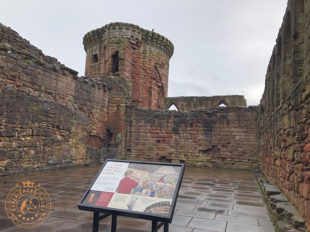 Remains of Bothwell Castle great hall