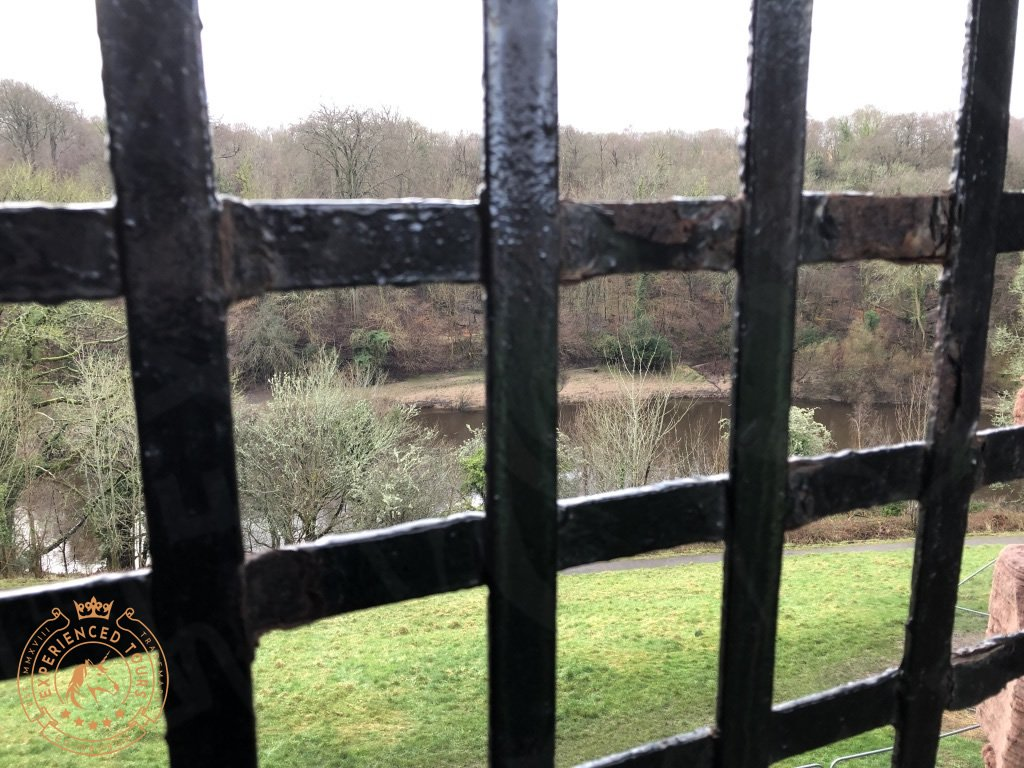 View to River Clyde from Bothwell Castle