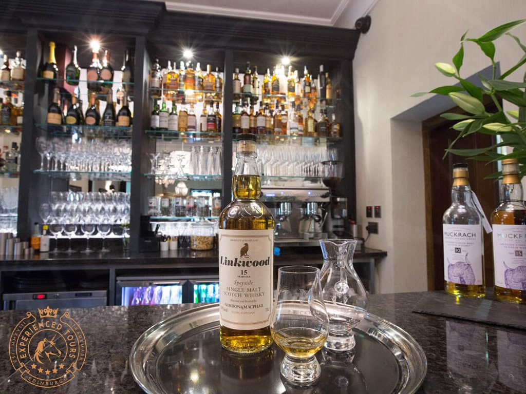 A dram at Muckrach Country House Hotel
