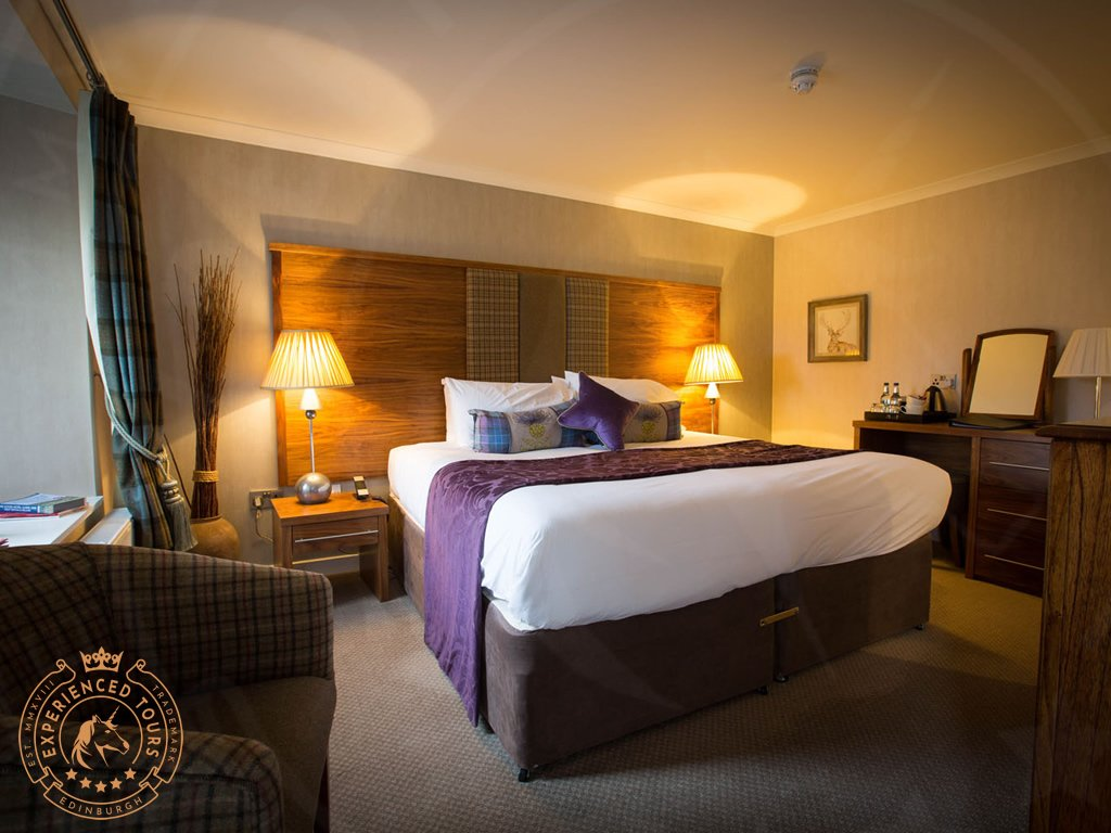 Bedroom at Muckrach Country House Hotel