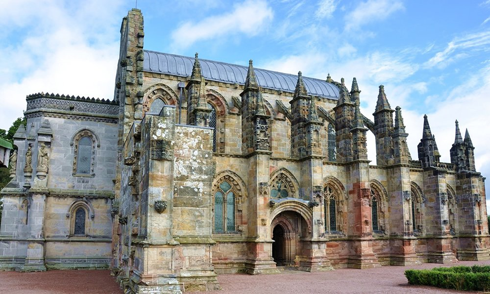 Rosslyn Chapel navigation