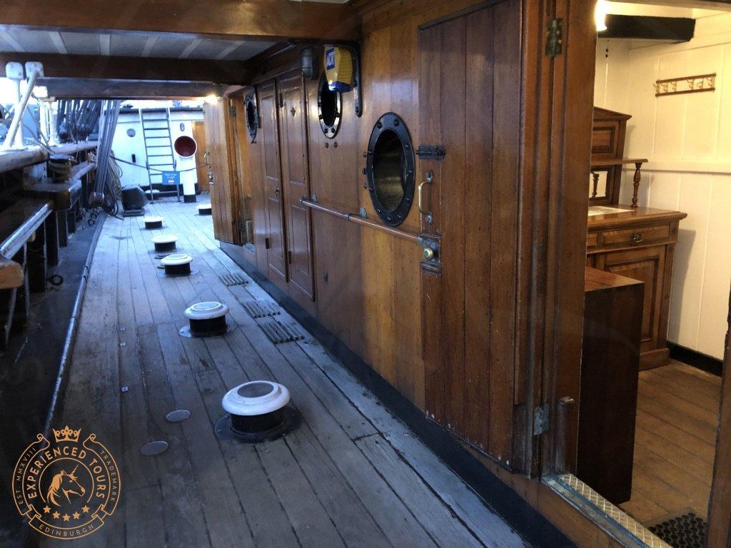 RRS Discovery teak deck