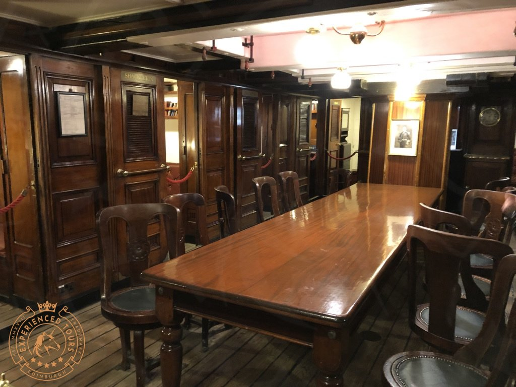 RRS Discovery officers mess