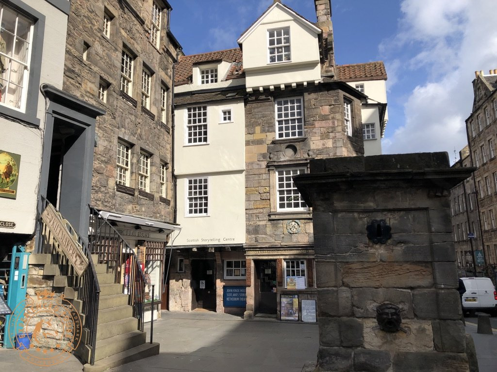 John Knox House on Royal Mile
