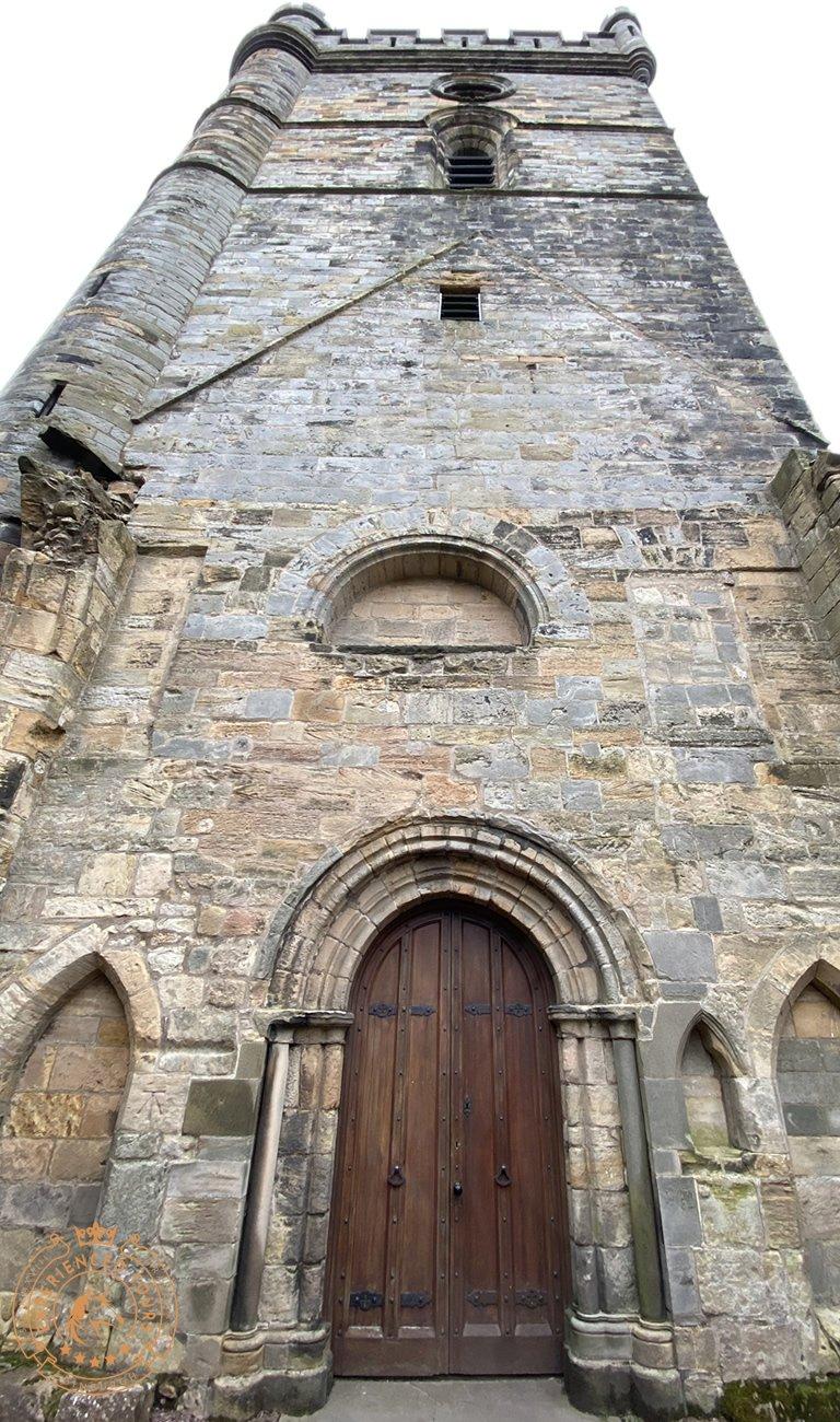 Frontage of Culross Abbey
