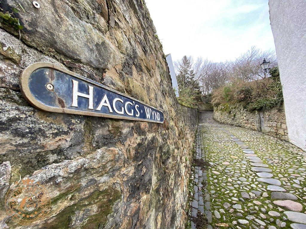 Hagg's Wynd in Culross