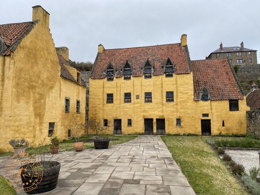Culross Palace and Courtyard