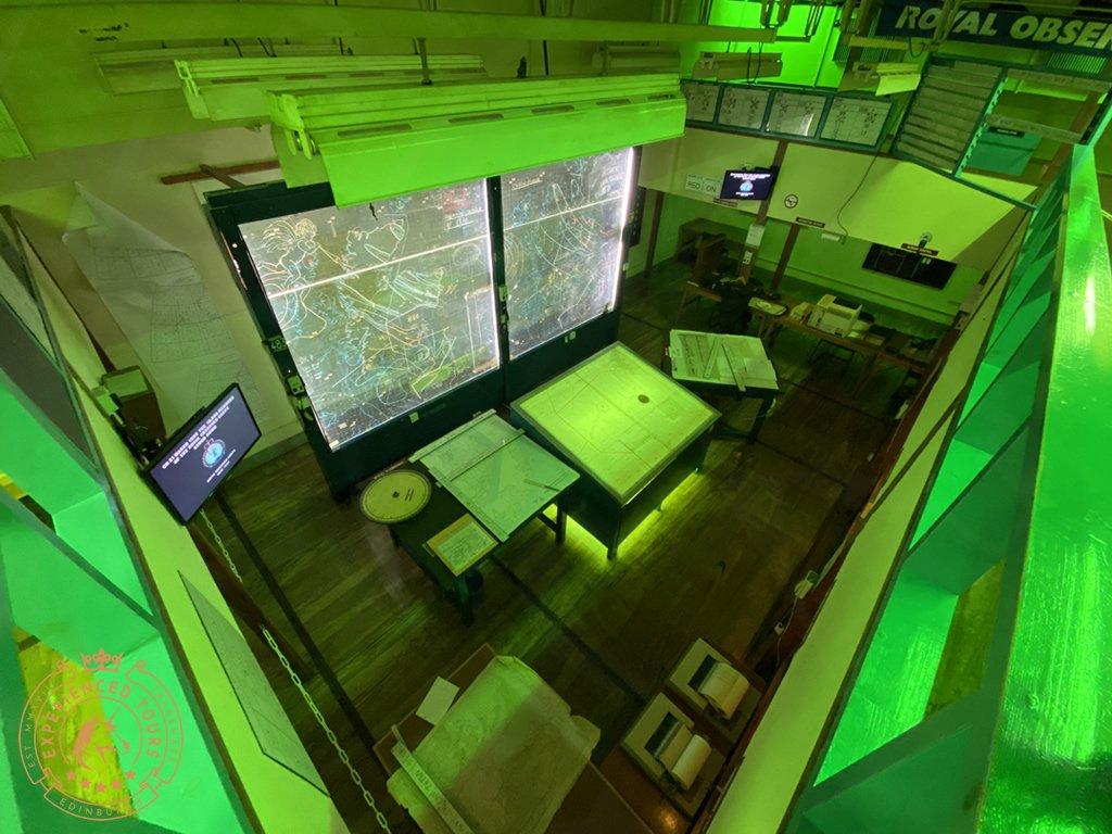 Secret Bunker Command Room