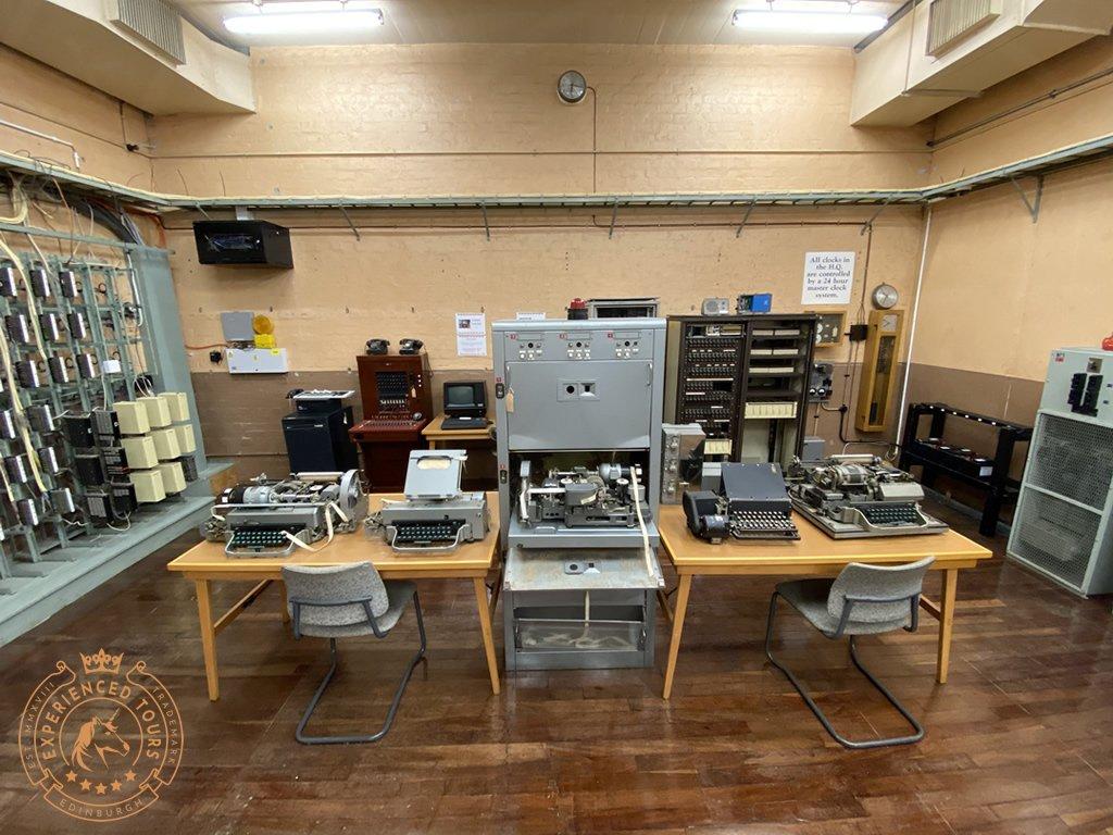 Secret Bunker Communications Equipment