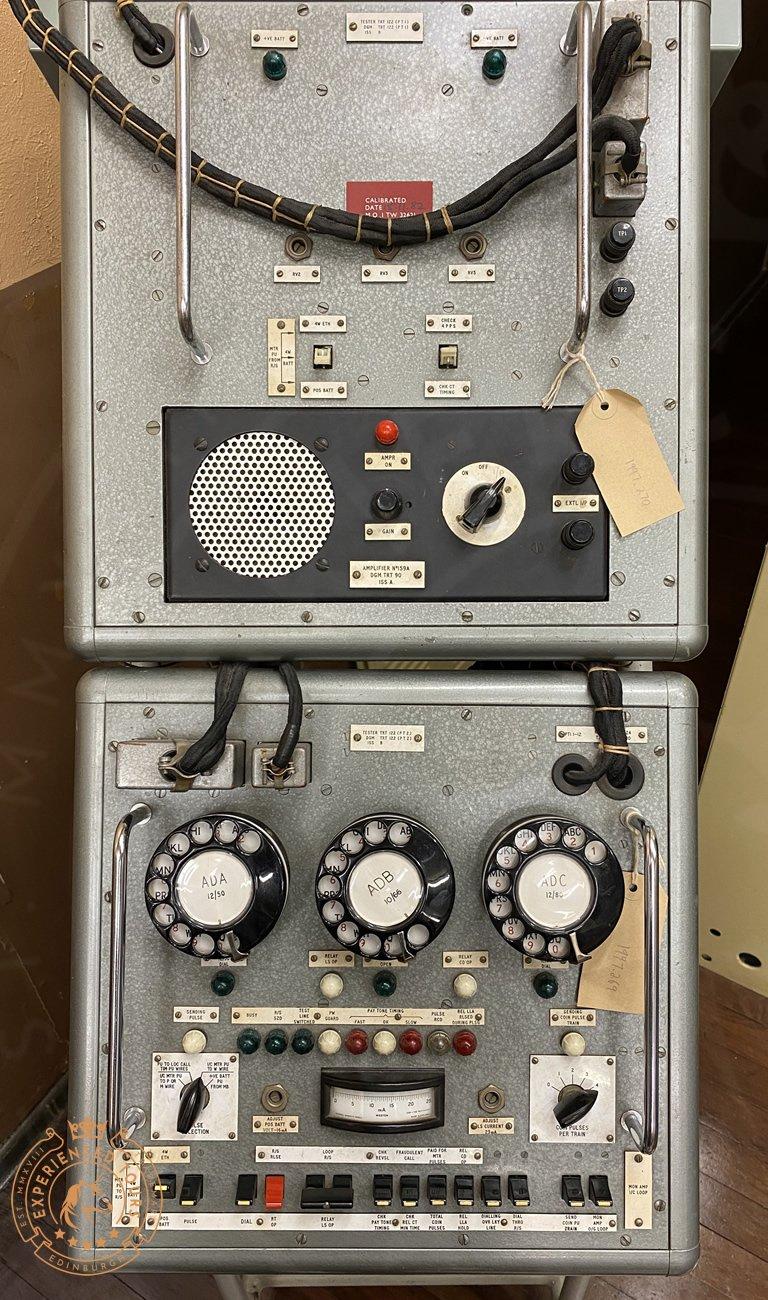 Secret Bunker Equipment