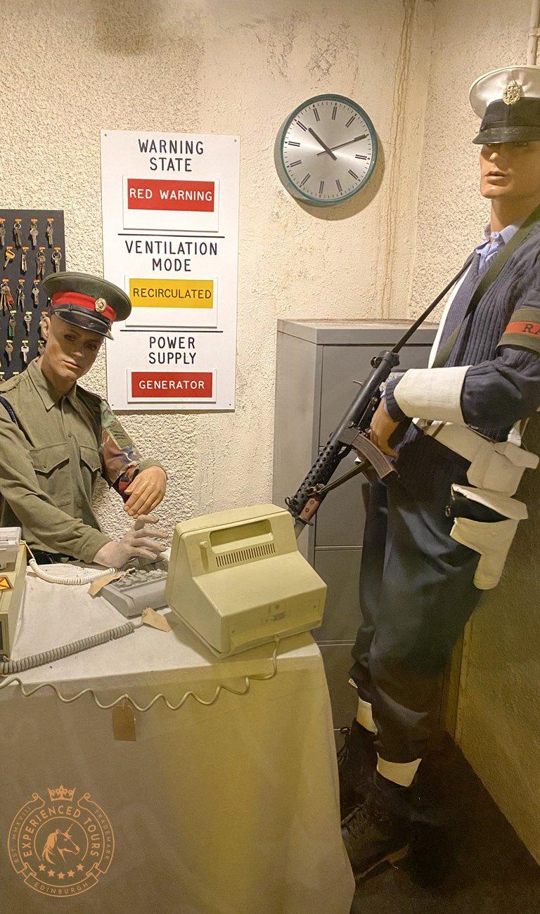 Secret Bunker Guards room