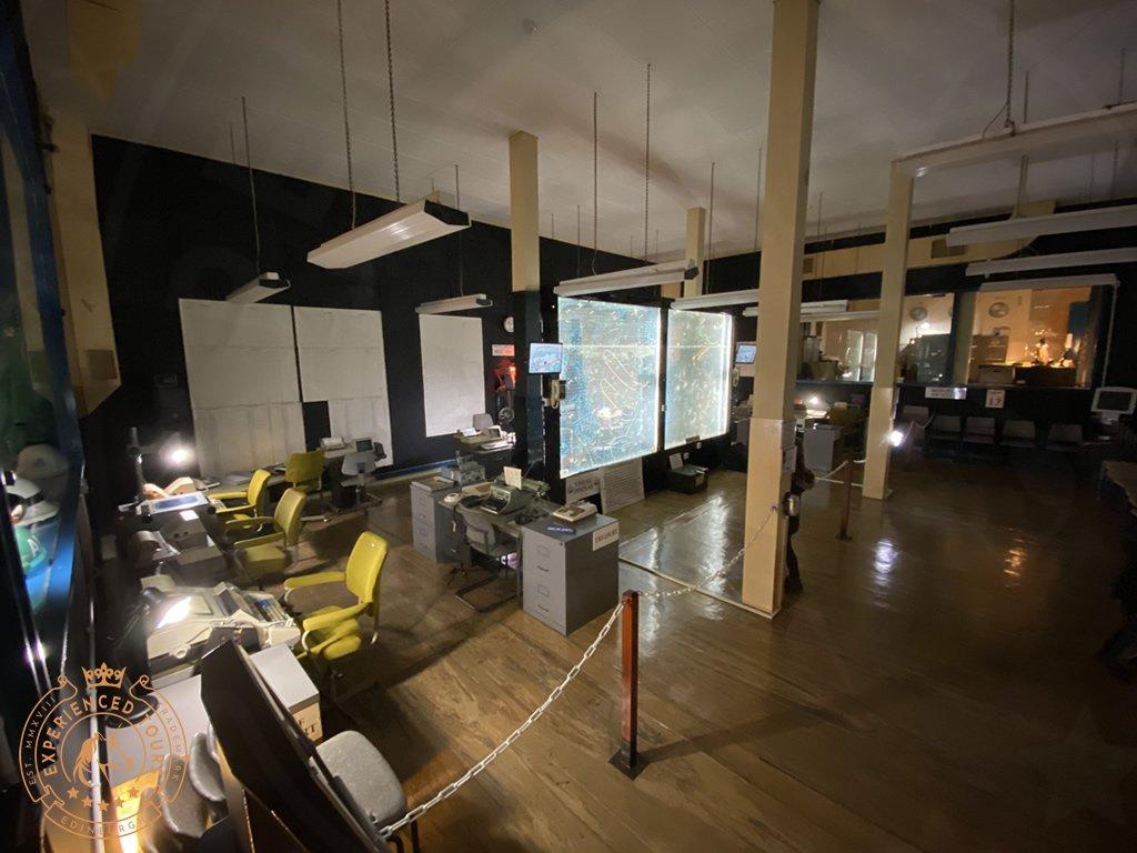 Secret Bunker Operations Room