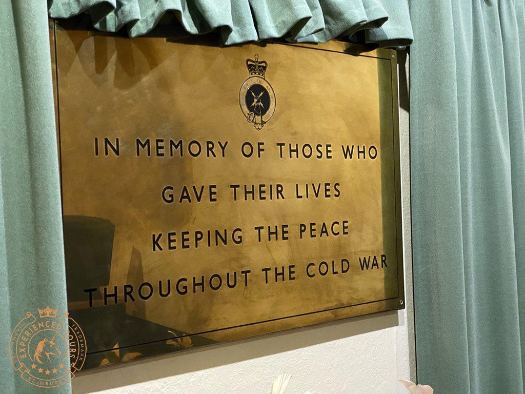 Secret Bunker Commemorative Plaque
