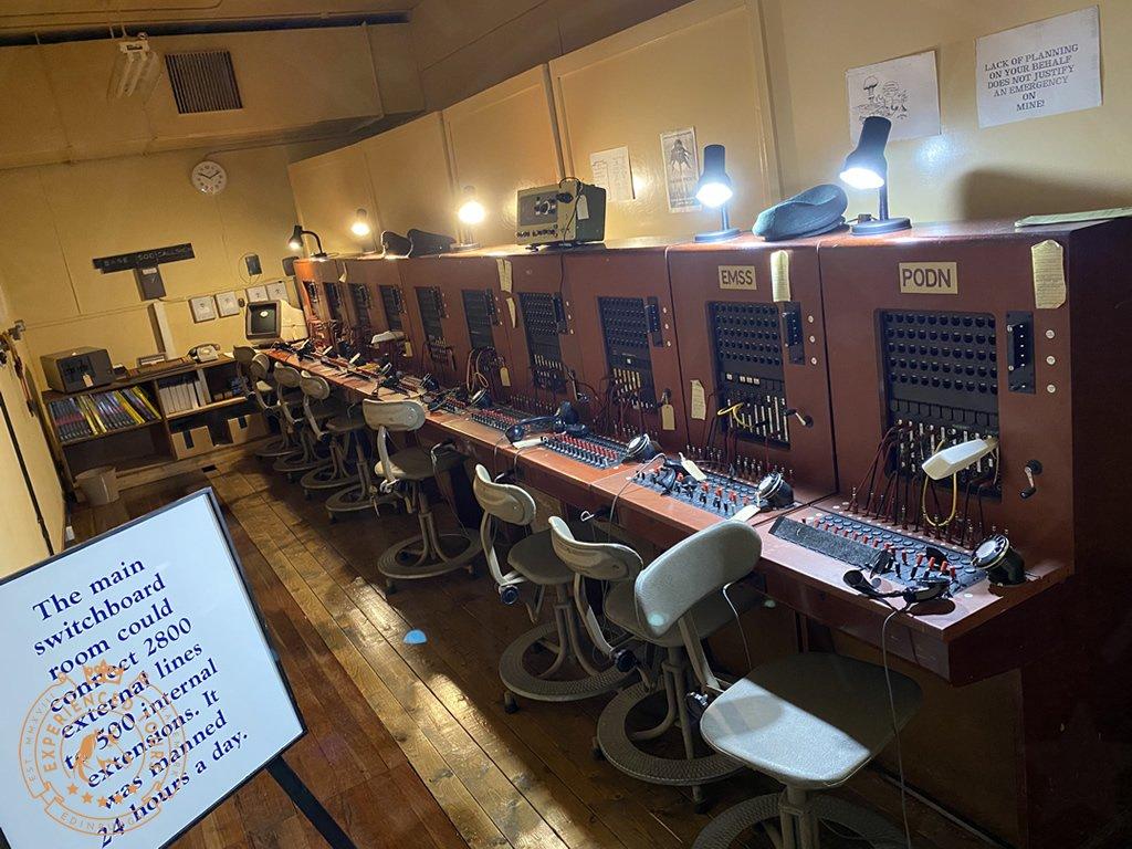 Secret Bunker Switchboard
