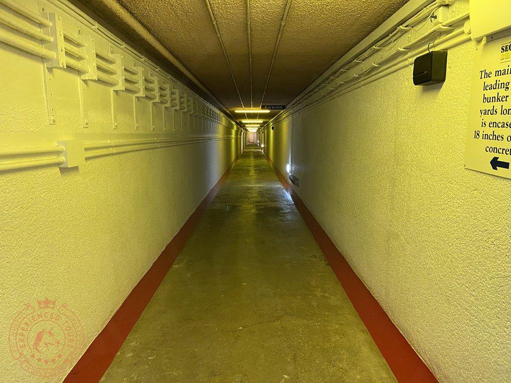 Secret Bunker Entrance Tunnel