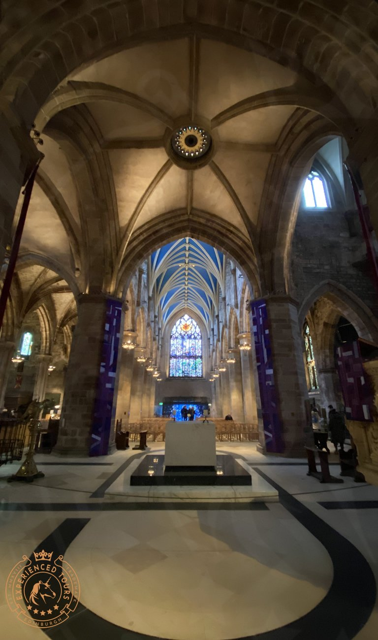 The Interior of St Giles Cathedral