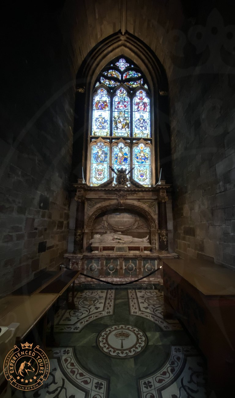 Tomb inside St Giles Cathedral