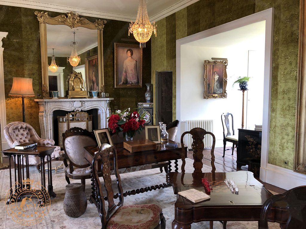 The Drawing room at Dunvegan Castle