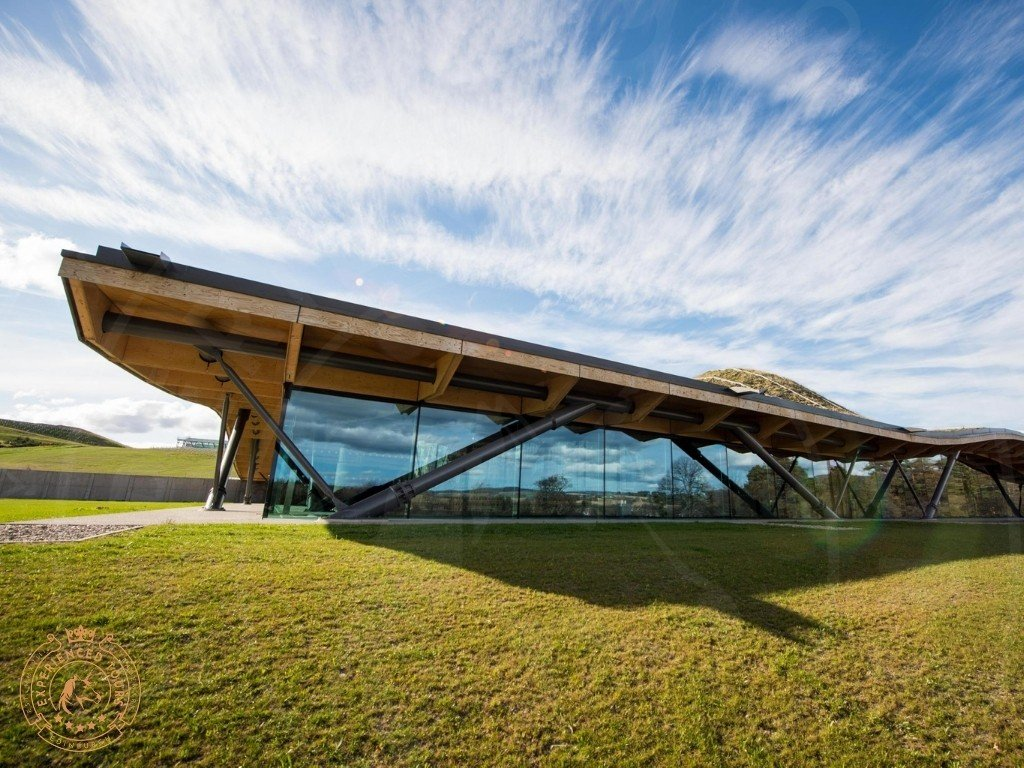 The Macallan Whisky Distillery exterior