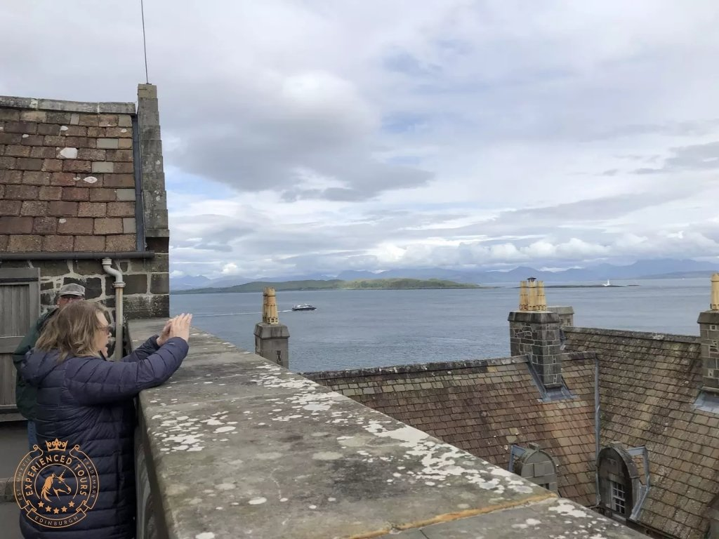 Looking out over the sound of Mull from Duart