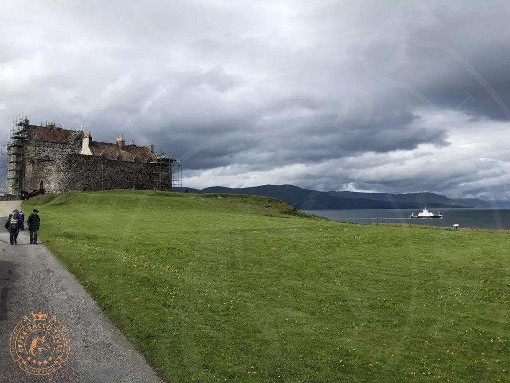 Looking towards Duart Castle