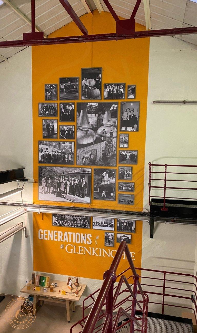 Generations of Glenkinchie Wall art