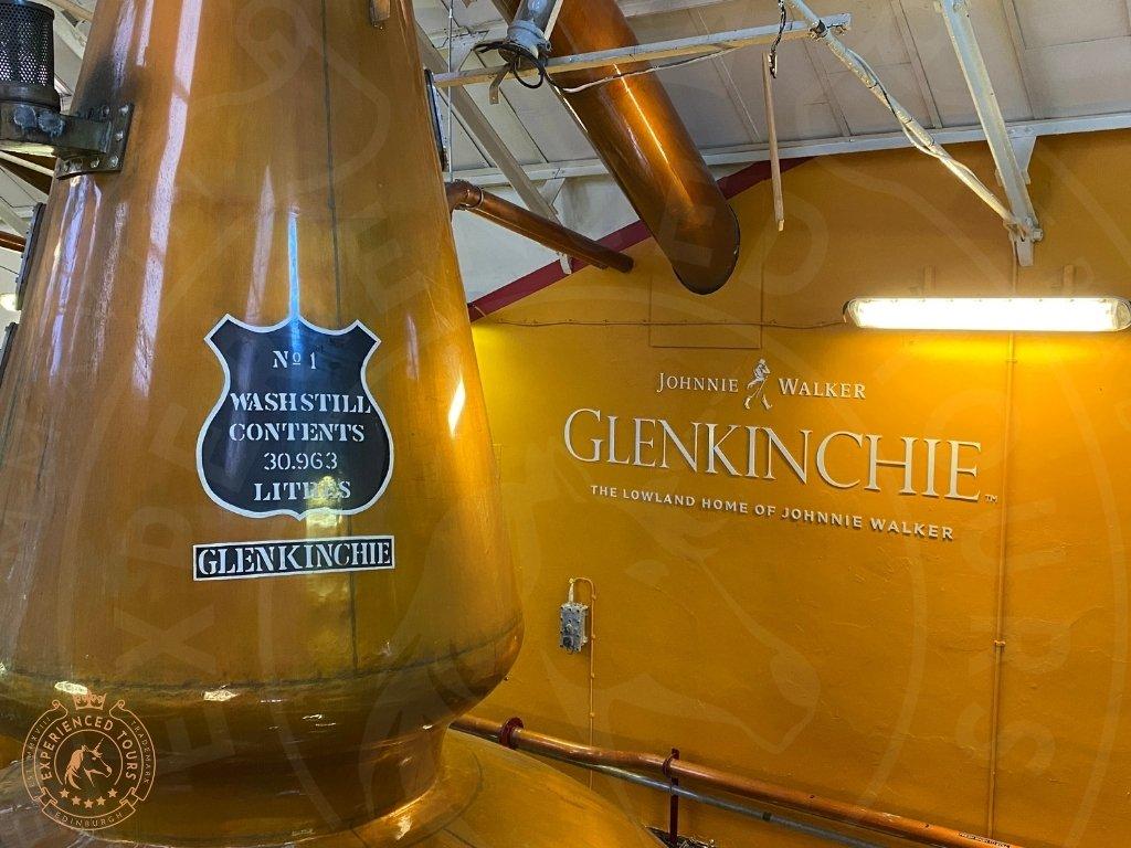 One of the Stills at Glenkinchie