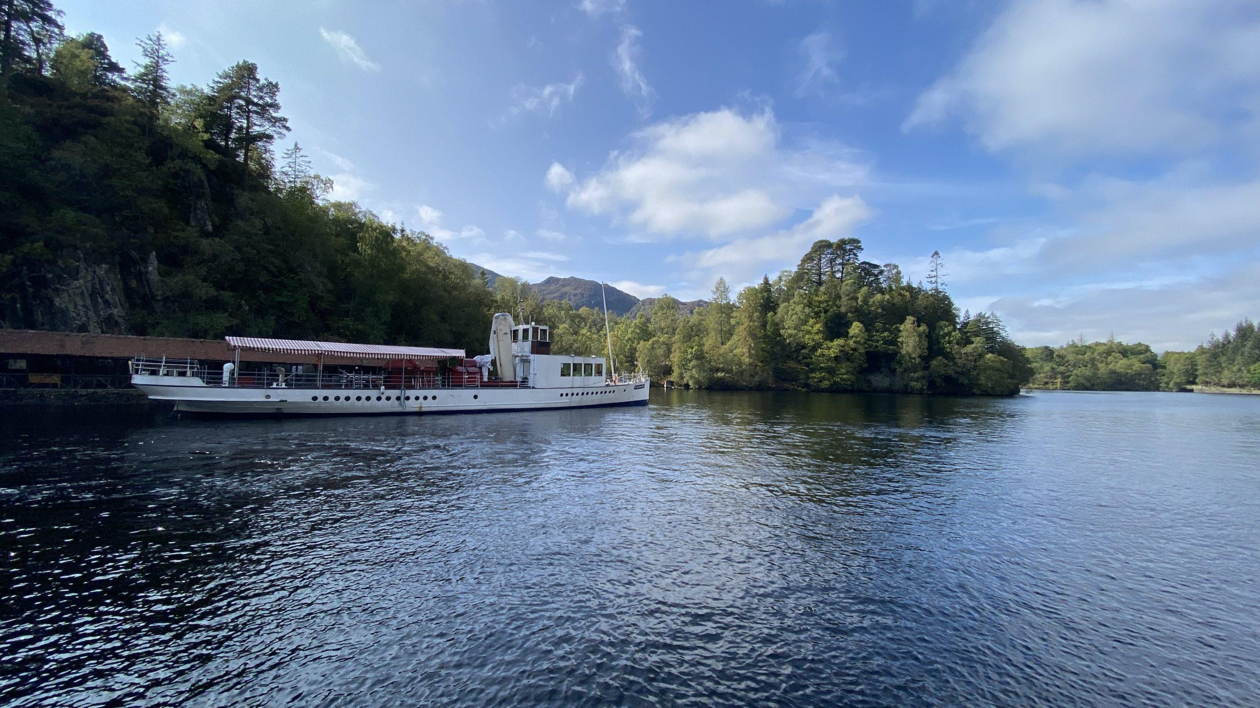 Loch Katrine & Sir Walter Scott steamship