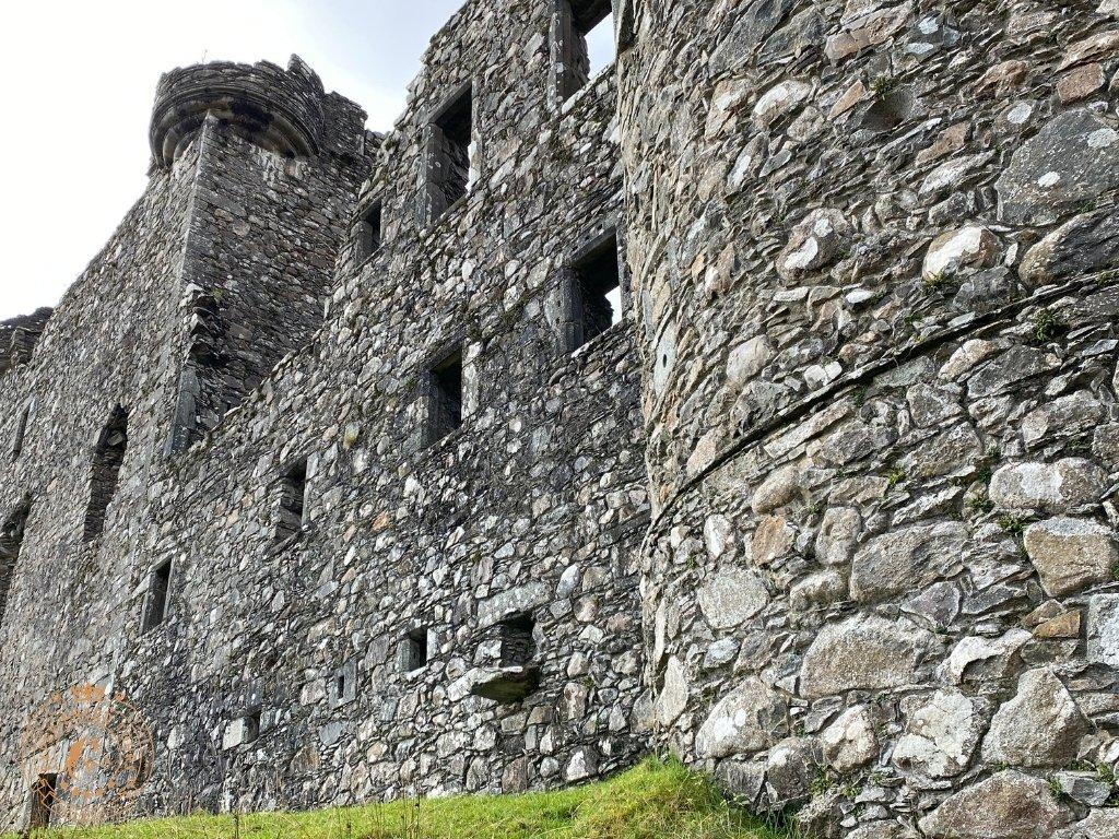 The impressive north face of Kilchurn Castle