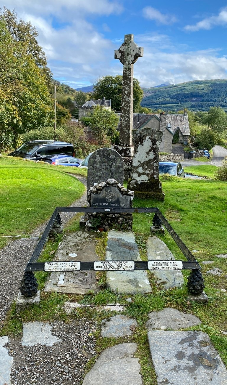 MacGregor Grave at Balquhidder