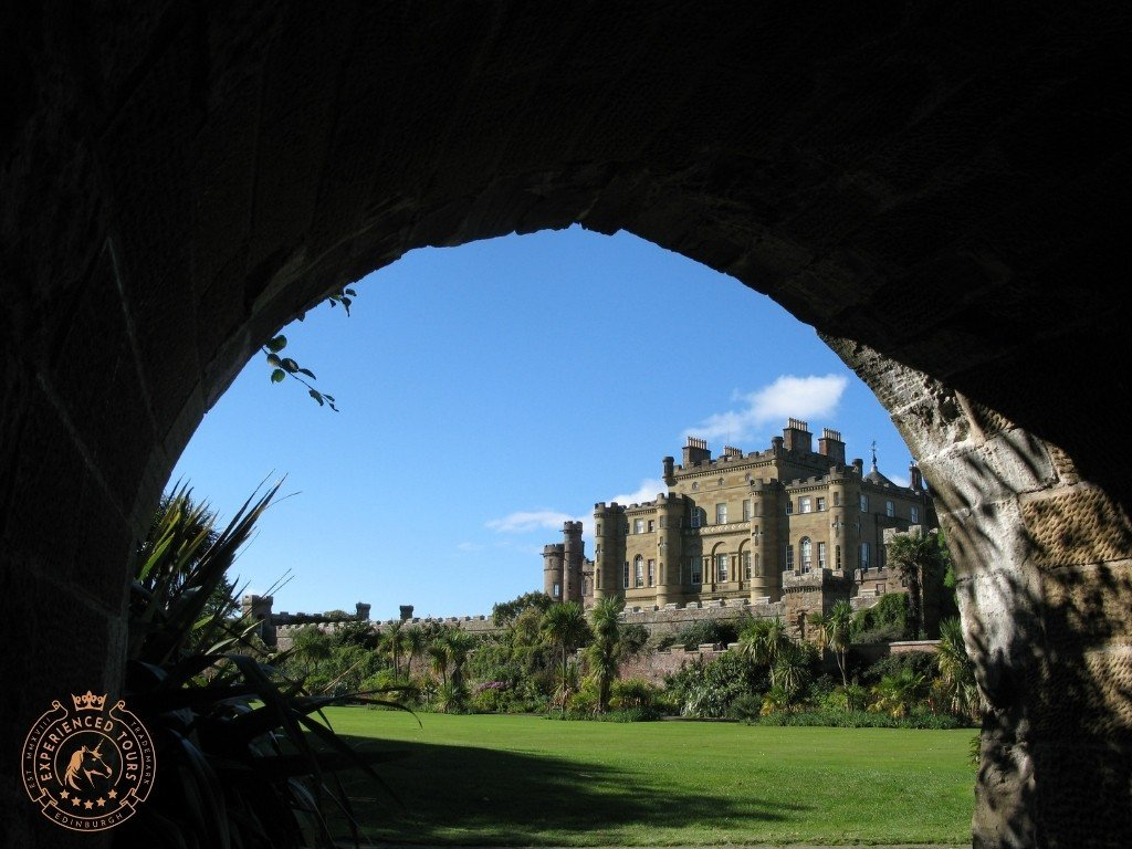 Culzean Castle view from Archway