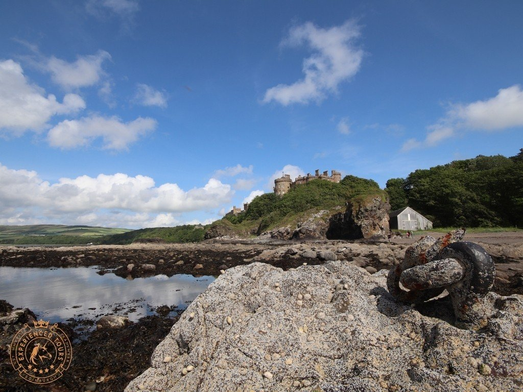 Culzean Castle view from the waterfront
