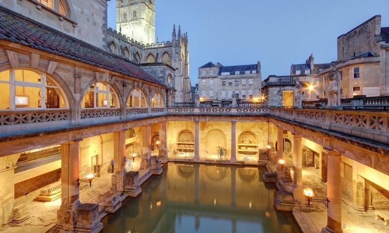 Roman Bath Navigation