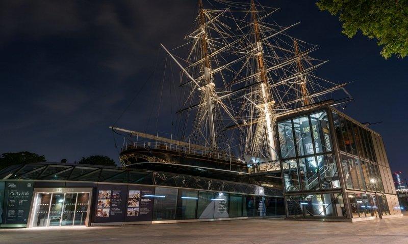 Greenwich & Cutty Sark Navigation