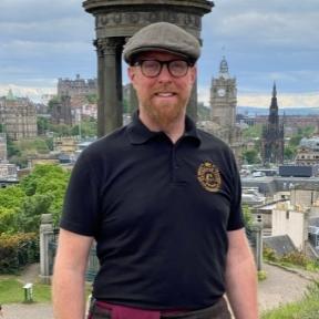 Tour guide Sean