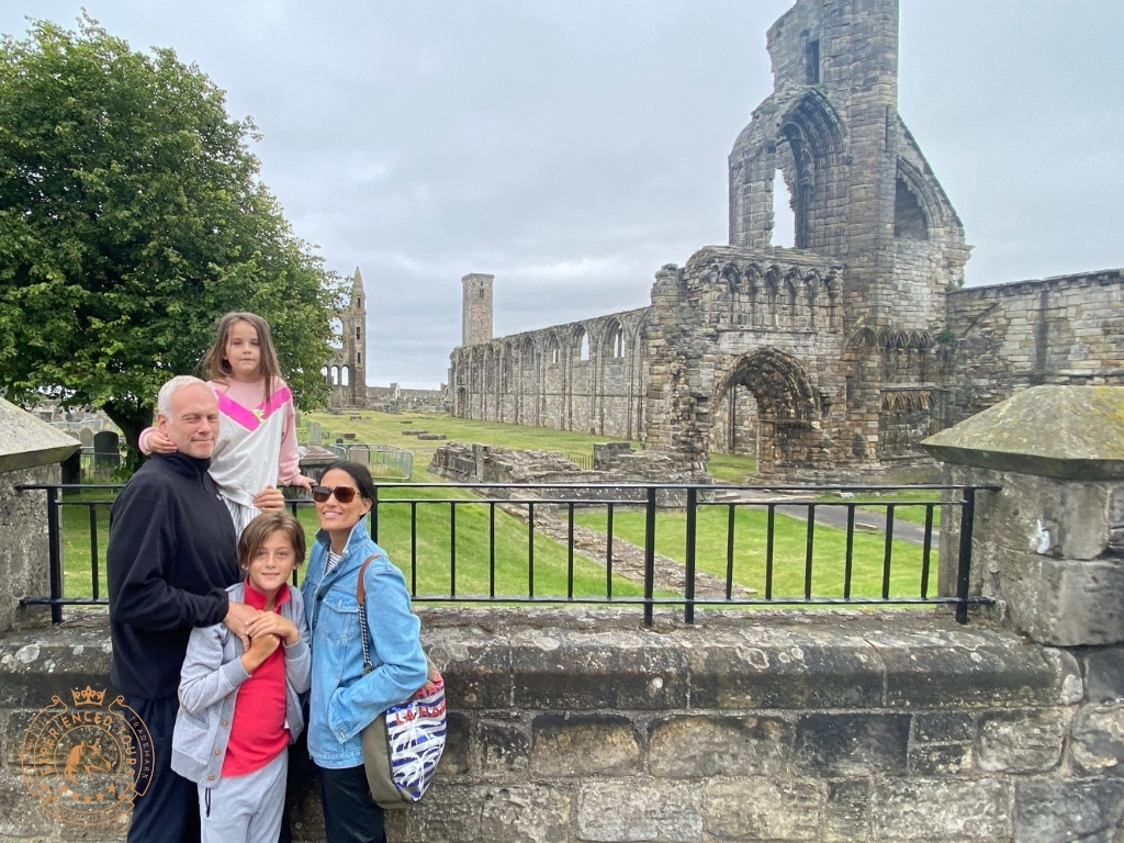 Clients at St Andrews Cathedral