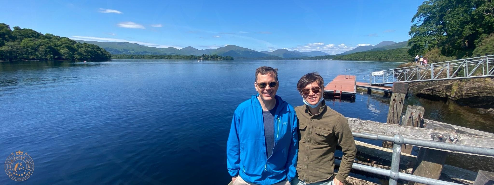 Clients at Loch Lomond
